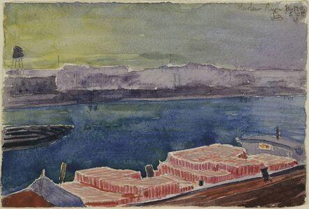 Oscar Bluemner, 'Harlem River', 1911