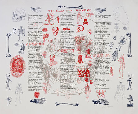 Allen Ginsberg, 'The Ballad of the Skeletons', 1996
