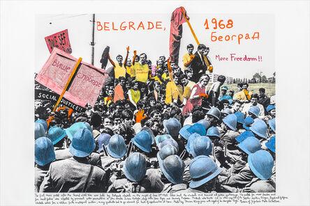 Marcelo Brodsky, 'From the series 1968: The fire of Ideas, Belgrado, 1968', 2014-2019