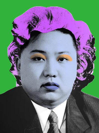 Cartrain, 'Kim Jong-un ', 2016