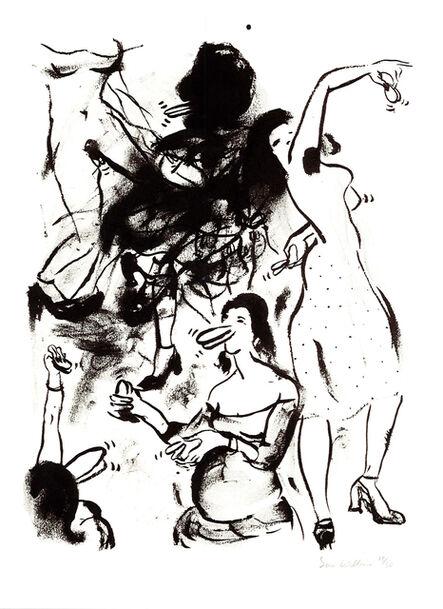 Sue Williams, 'Castanets, 1993', 1994
