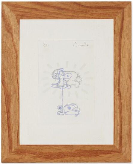George Condo, 'Untitled ('Radiant Baby')', 1986