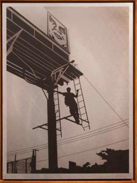 Shepard Fairey, 'Bayshore Billboard', 2011