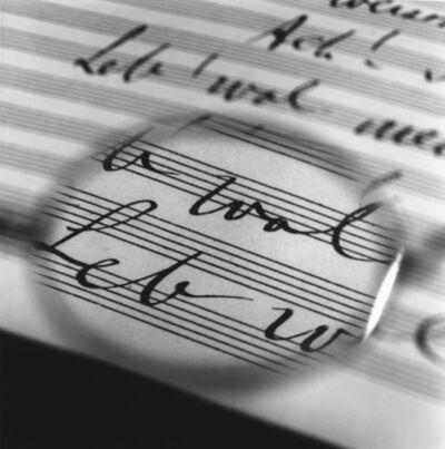 Tomoko Yoneda, 'Mahler's Glasses - Viewing his last Symphony No. 10', 1999