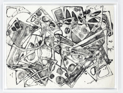 Mel Kendrick, 'Double Water Drawing 10/16/13 (E)', 2013-2015