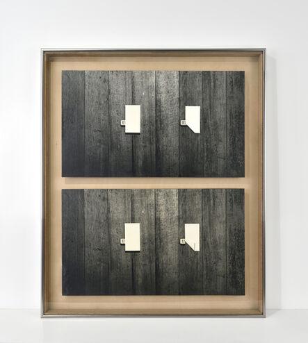 Kanji Wakae, 'Eraser-75- I / II', 1975