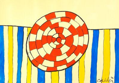 Alexander Calder, 'Wheel and Stripes', 1970