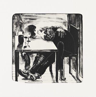 Nicole Eisenman, 'Sloppy Bar room Kiss', 2011