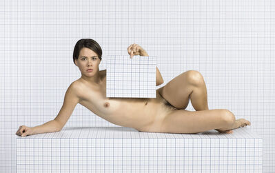 Charlie White, 'Naked Girl Reclining, Looking Towards Camera', 2014