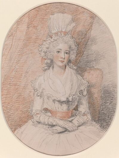 John Hoppner, 'Miss Frances Beresford', ca. 1784/1785