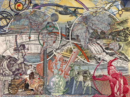 MALALA ANDRIALAVIDRAZANA, 'Figures 1928, Airline routes and distances', 2018