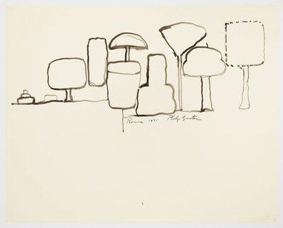 Philip Guston, 'Rome', 1971
