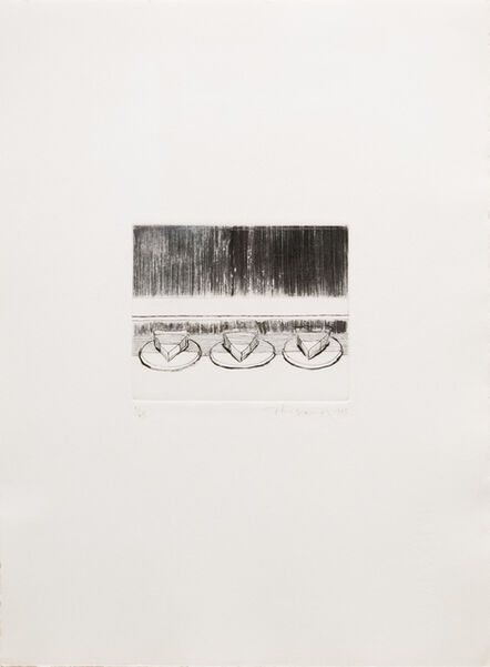 Wayne Thiebaud, 'Pie Case', 1965