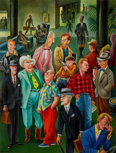 Miguel Covarrubias, 'How to Tell Men Apart', 1955