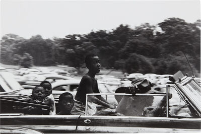 Robert Frank, 'Belle Isle, Detroit', 1956
