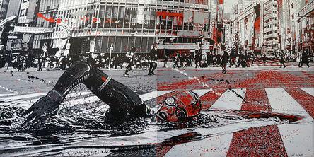 Jef Aérosol, 'Swim Over', 2020