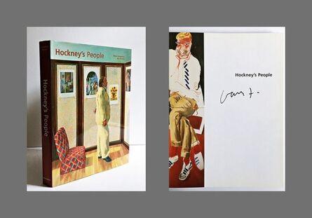 David Hockney, 'Hockney's People (Hand Signed)', 2003