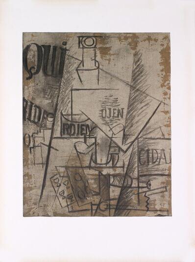 Pablo Picasso, 'Papiers Colles', 1966