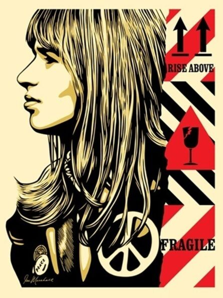 "Shepard Fairey, '""Fragile Peace""', 2017"
