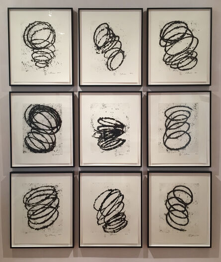 Richard Serra, 'Bights #1-9 - SOLD', 2011