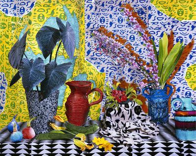 Daniel Gordon, 'Still Life with Cherry Blossoms and Zucchini', 2013