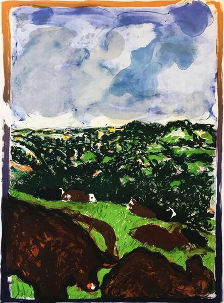 Malcolm Morley, 'Devonshire Bullocks', 1982