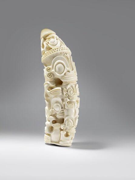 """Teiki """"kiki"""" Barsinas, 'Sperm whale tooth ', 2012"""
