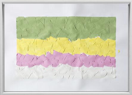Rodrigo González Castellanos, 'Desgaste de la psicología del color, Juventud', 2020