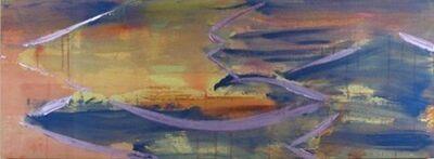 Kazumi Nakamura, 'C Opened II- Fossa Magna: Purple Evening Glow (フォッサマグナ 紫の夕照)', 2000