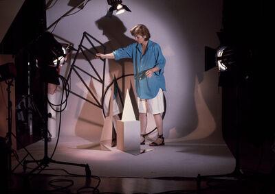 Barbara Kasten, 'Documentation of Barbara Kasten working in her studio, New York, NY', 1983