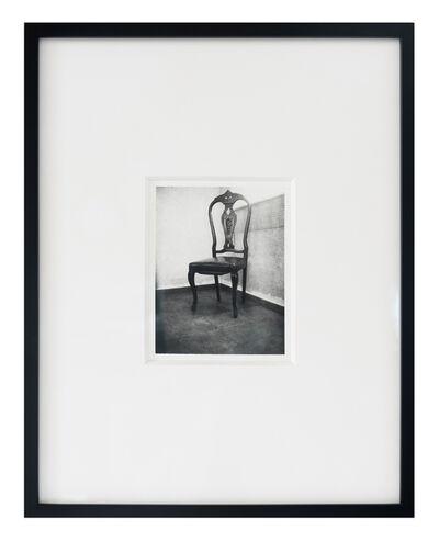Patti Smith, 'Roberto Bolaño's Chair 3', 2010