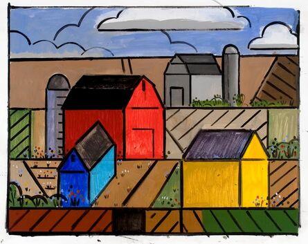 Richard Thompson, 'Prairie Study (Yellow House)', 2014