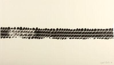 Gavin Turk, 'Tyre Print', 2008