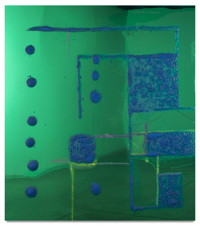 Dale Frank, '9 Songs / Geometric Abstraction 2 / Theodore and Epping', 2016