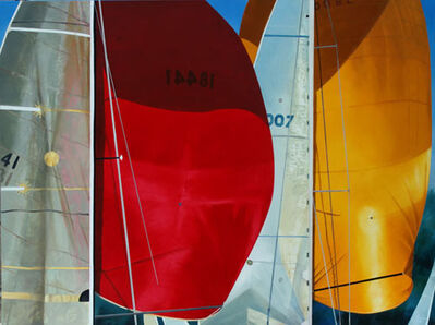 Kay Bradner, 'Red and Yellow Spinnaker'