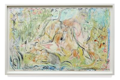 Cecily Brown, 'Untitled (The Calls of the Hunting Hom)', 2019