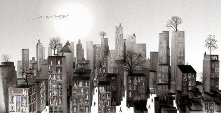 Young Sam Kim, 'City Life - 02', 2017