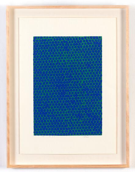 Chiyu Uemae 上前 智祐, 'Blue on green ', 2001