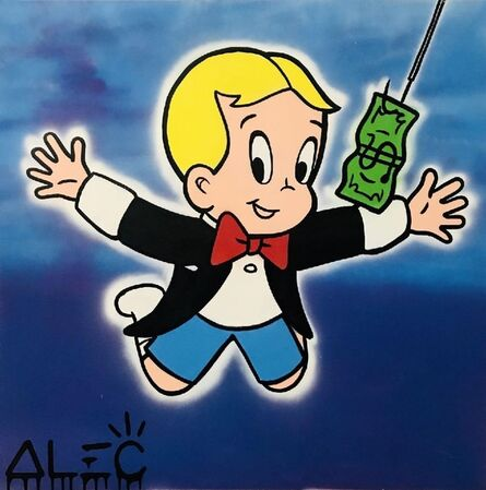 Alec Monopoly, 'Richie Nirvana Cover $ Painting', 2021