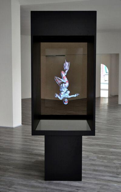 Christian Zanotto, 'APNEA - HOLOGRAPHIC THECA', (2013 > Animated virtual sculpture sequence APNEA)