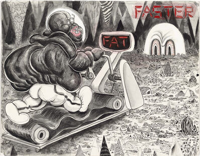 Trenton Doyle Hancock, 'Faster', 2010