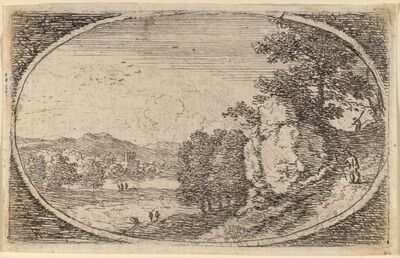 Herman van Swanevelt, 'The Steep Path'