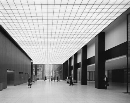 Ezra Stoller, 'Union Carbide Lobby, Skidmore, Owings & Merrill, New York, NY', 1960