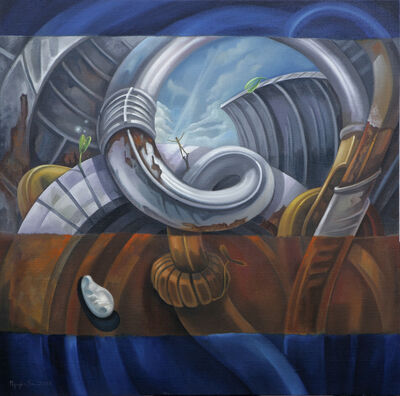 Nguyen Son, 'The world is not flat (Thế giới không phẳng) (NS130209)', 2010