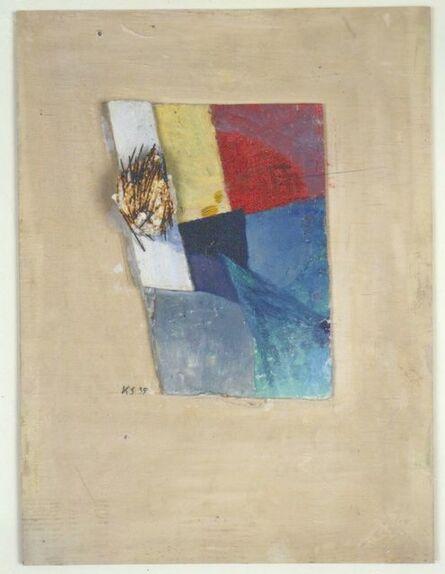 Kurt Schwitters, 'Untitled (The Nail Picture) (Das Nagelbild)', 1939