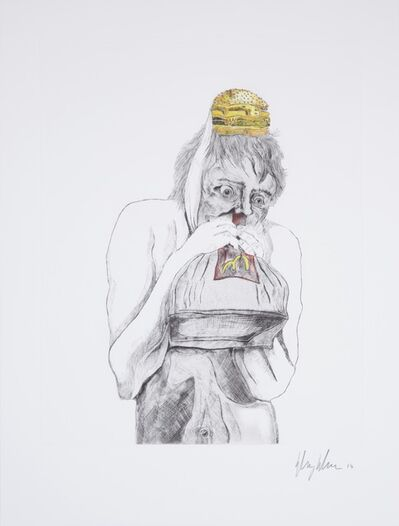Henry Hudson, 'Man Devouring Big Mac (3)', 2014