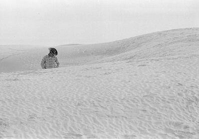 Thomas Hoepker, 'Heartland, Cowboy in dunes, White Sands National Park, USA', 1963