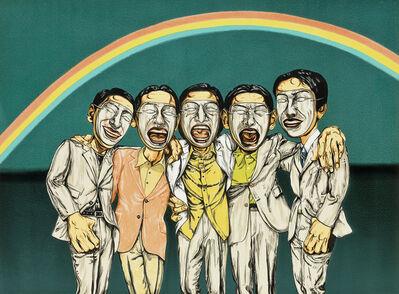 Zeng Fanzhi 曾梵志, 'Mask No.2', 2005