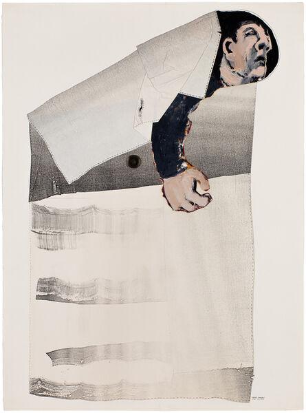 Benny Andrews, 'Pocketed', 1975