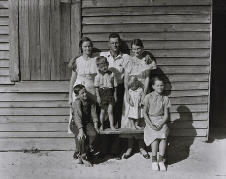 Walker Evans, 'Burroughs Family, Hale County, Alabama', 1936